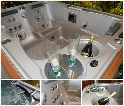 Hydropool Self Cleaning Hot Tub Features