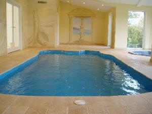 One piece client self build pool, 2005.